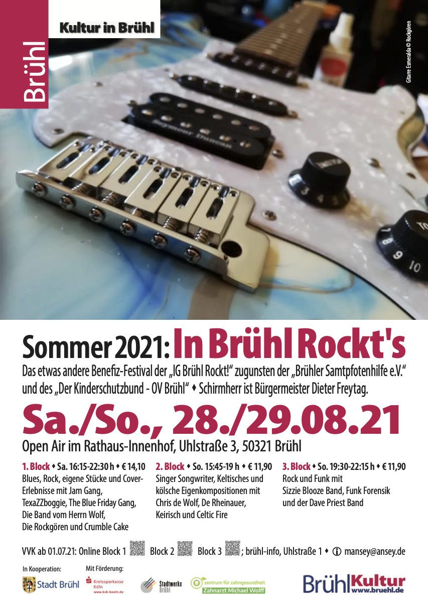 In Brühl Rockt's